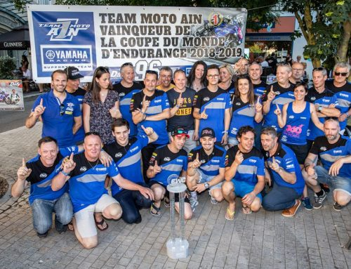 LE TEAM MOTO AIN FÊTE SON TITRE |  LA VIDEO !